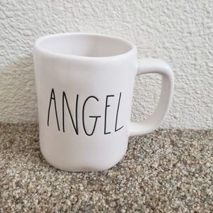 Rae Dunn Angel name mug